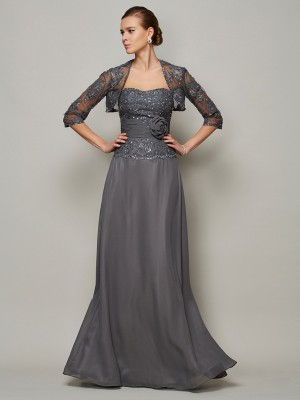 Chic Net 1/2 Sleeves Special Occasion Wrap