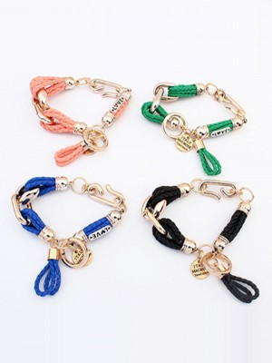 Chic Occident original Foreign trade Woven Bracelet
