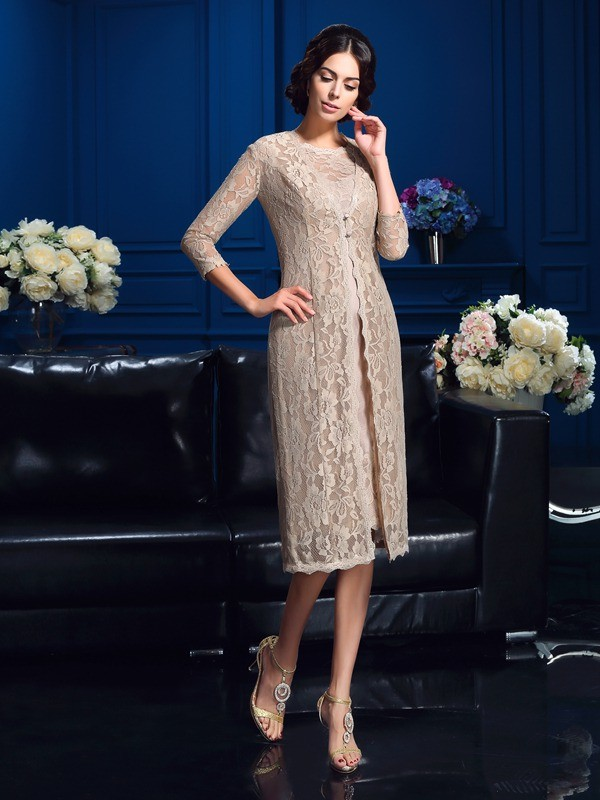 Stylish 3/4 Sleeves Lace Special Occasion Wrap