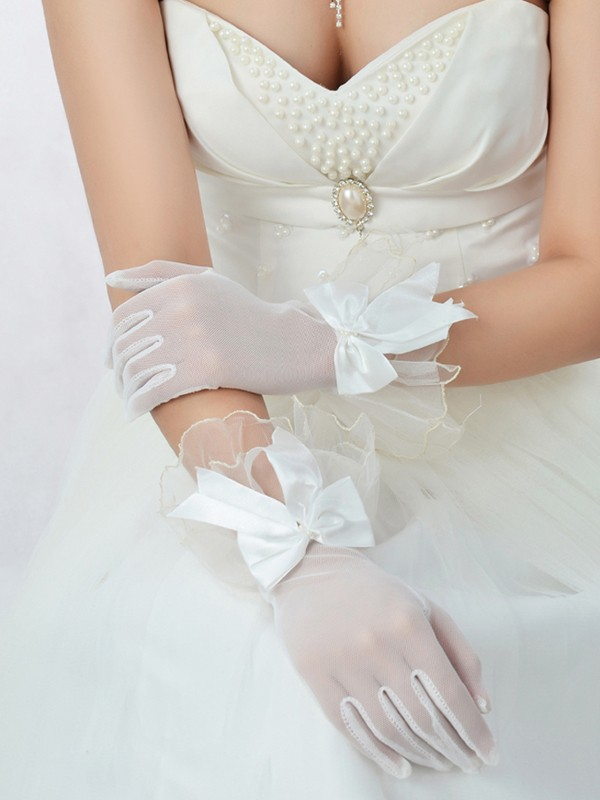Beautiful Best Tulle Wedding Glove