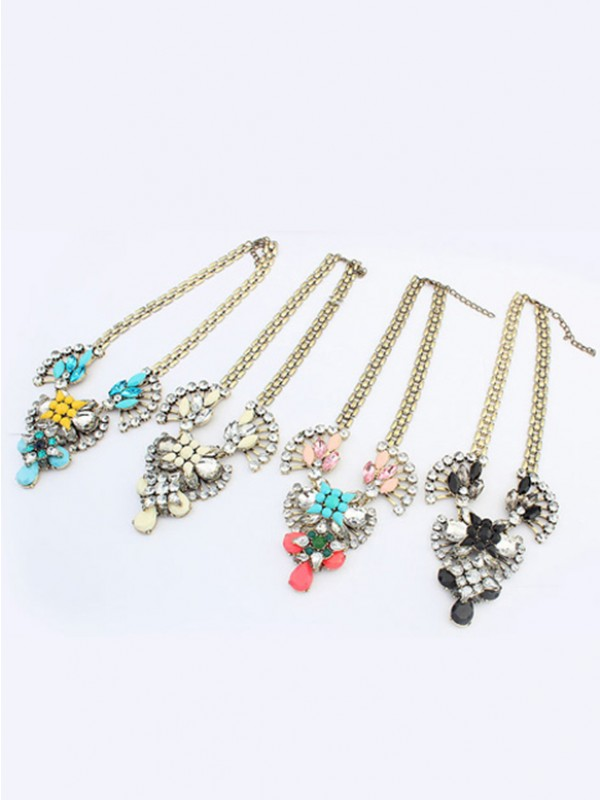 Stylish Occident Major suit Retro Hyperbolic Personality Necklace