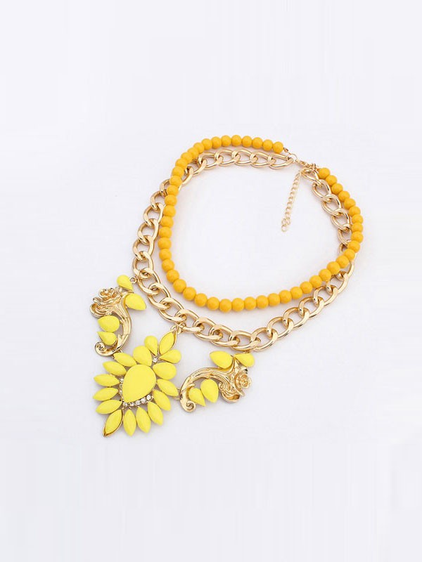 Gorgeous Occident New Street Shooting Necklace