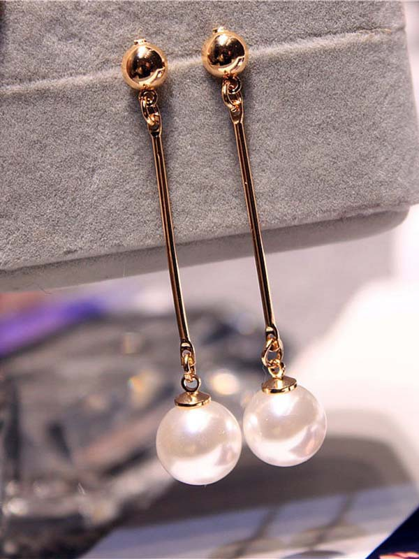 New Hot Sale Korean New Hot Sale Imitation Pearl Earrings