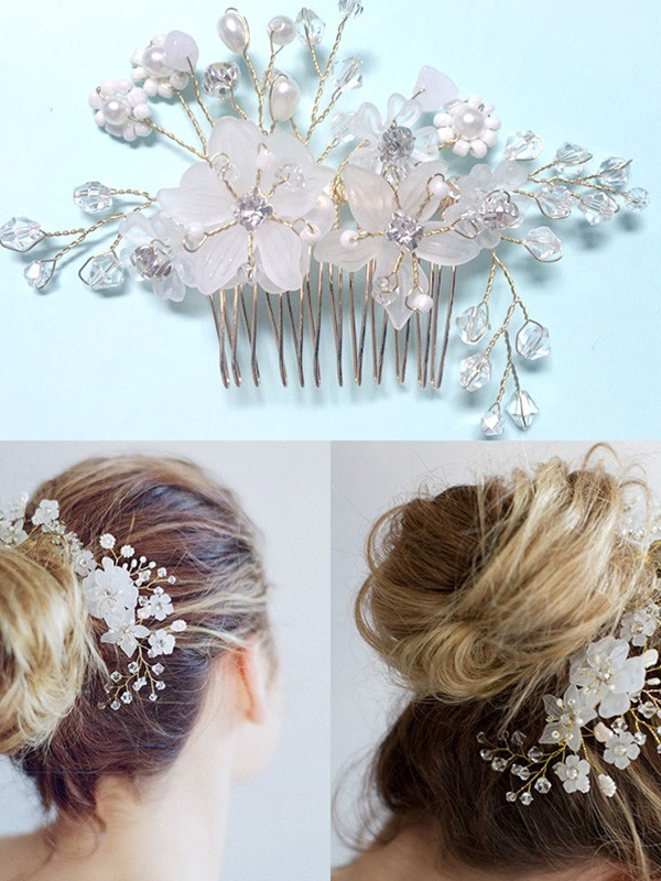 Fashion Czech Pearl Headpiece