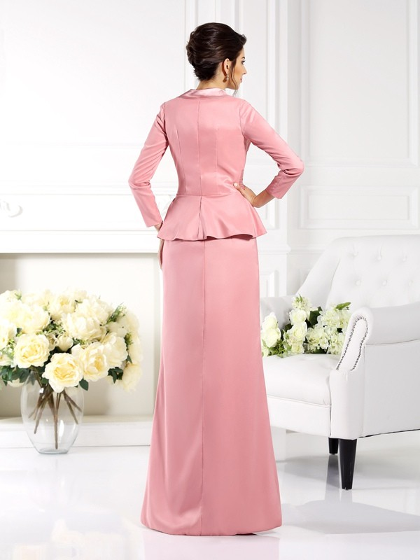 Chic 3/4 Sleeves Elastic Woven Satin Special Occasion Wrap