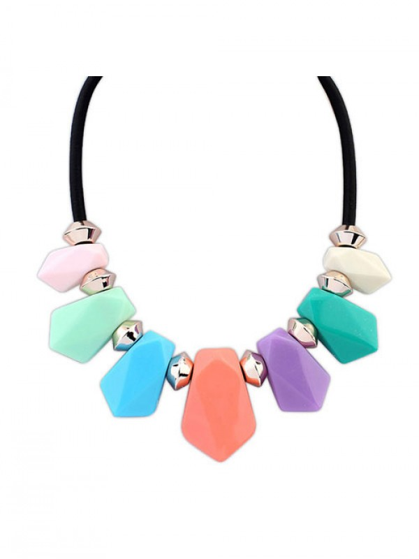 Stylish Occident Street shooting all-match Geometry Temperament Necklace