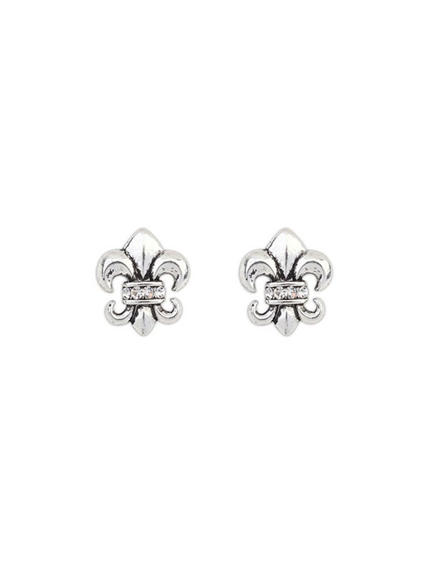 Gorgeous Occident Hyperbolic Personality Knight Stud Earrings