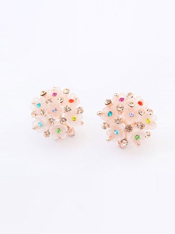 Gorgeous Occident All-match Floret Ear Clip