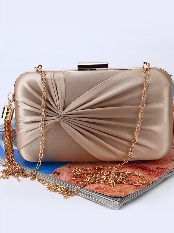 New Ruched Evening/Party Handbag
