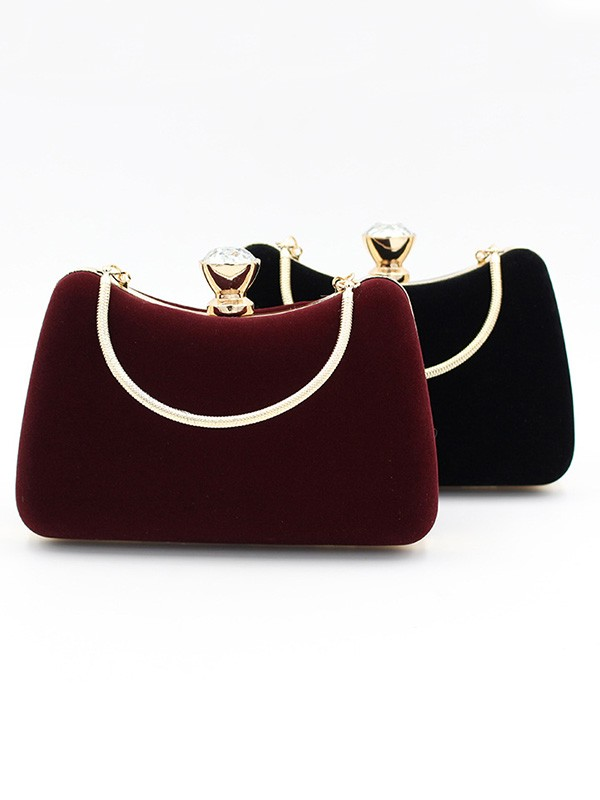 New Velvet Evening/Party Handbag