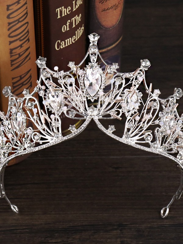 Elegant Czech Alloy Headpiece